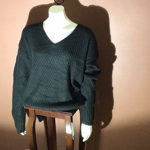 Ava & Viv Black X-large Sweater